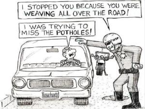 pothole funny